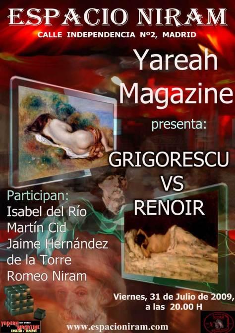Grigorescu versus Renoir en Espacio Niram