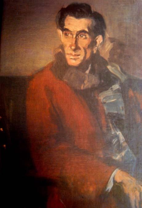 Panait Istrati - portrait by Eustatiu Stoenescu