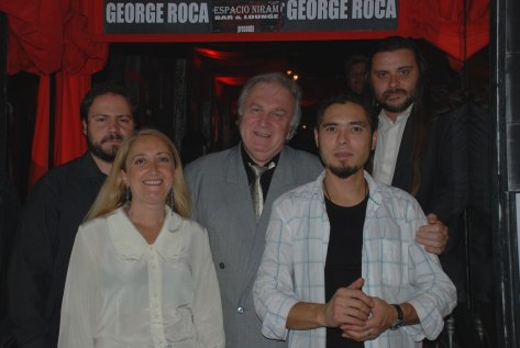 Isabel del Río, Bogdan Ater, Héctor Martínez, George Roca y Martín Cid en Espacio Niram