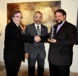 Alvaro Lobato de Faria, Zeferino Silva y Héctor Martínez Sanz