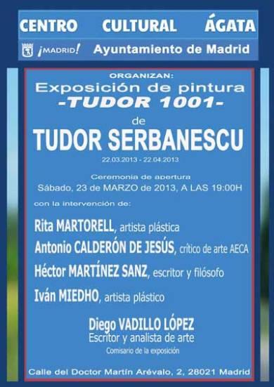 Exposición Tudor 1001 Cuentos Rumanos
