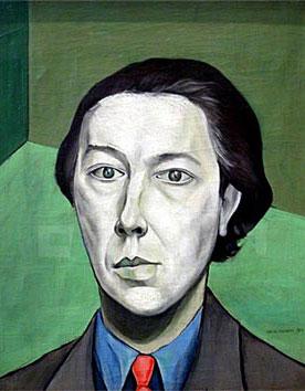 André Breton, retratado por Victor Brauner