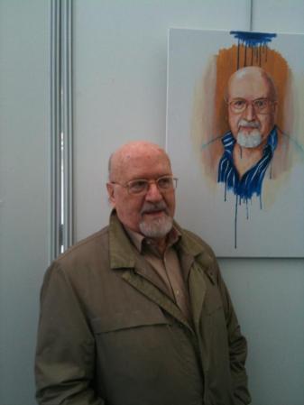 Retrato de Antonio Porpetta por Tudor Serbanescu