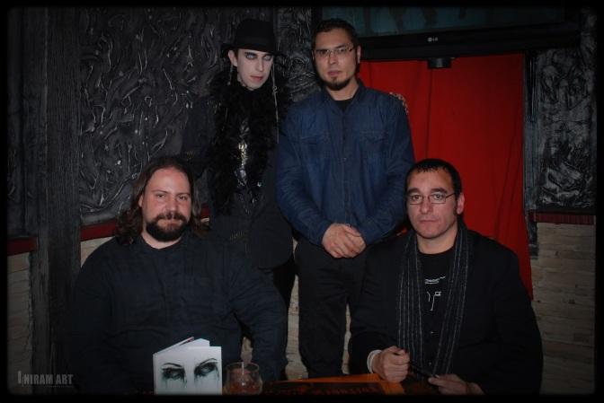 Héctor Martínez Sanz, Diego Vadillo López, Bogdan Ater y MIEDHO