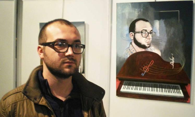 Retrato de Alex Belemuski por Tudor Serbanescu