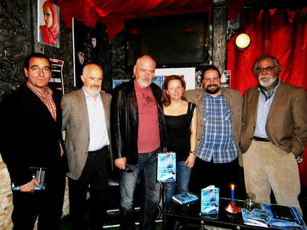 Lansarea cartii Triunghiul Fericirii de Elisei Virgil, in Espacio Niram, Madrid, Aprilie 2013