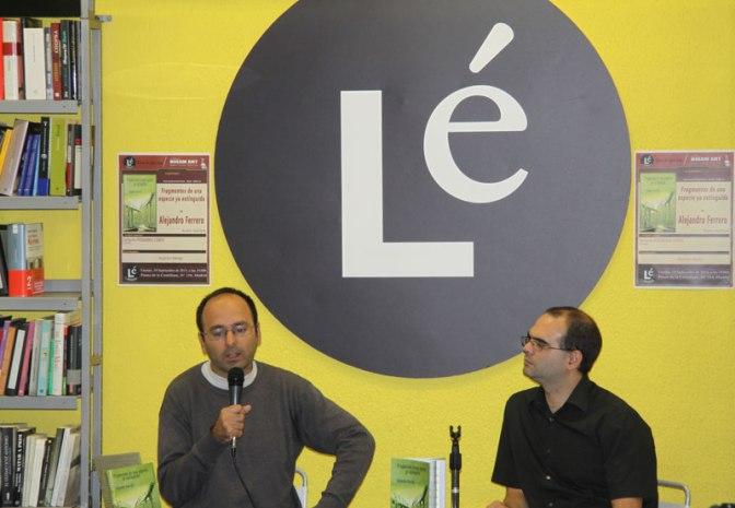 Alejandro Ferrero en el lanzamiento de su libro, Niram Art Editorial, 2014