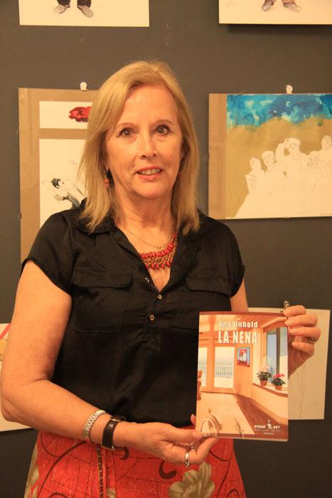 "Ana Unhold presenta su novela ""La nena"", Niram Art Editorial, 2014"