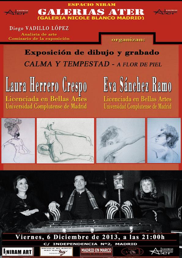 Cartel exposición Laura Herrero Crespo, Niram Art