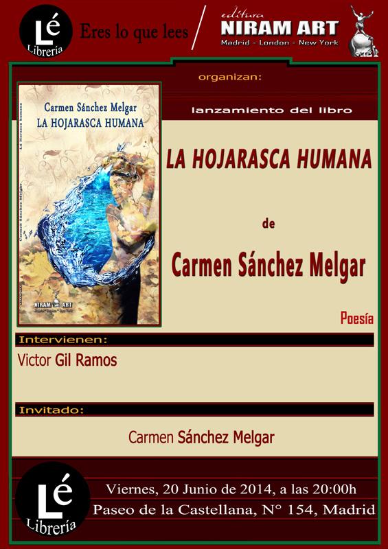 Cartel - La Hojarasca Humana- Niram Art