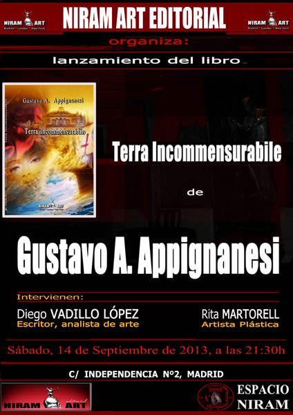 Cartel Terra Incommensurabile,  Niram Art