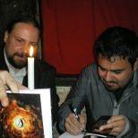 Héctor Martínez Sanz, Mauro I. Barea G., lanzamiento de libro, Niram Art Editorial