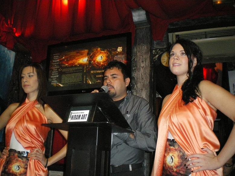 Mauro I. Barea G., lanzamiento de libro, Niram Art Editorial