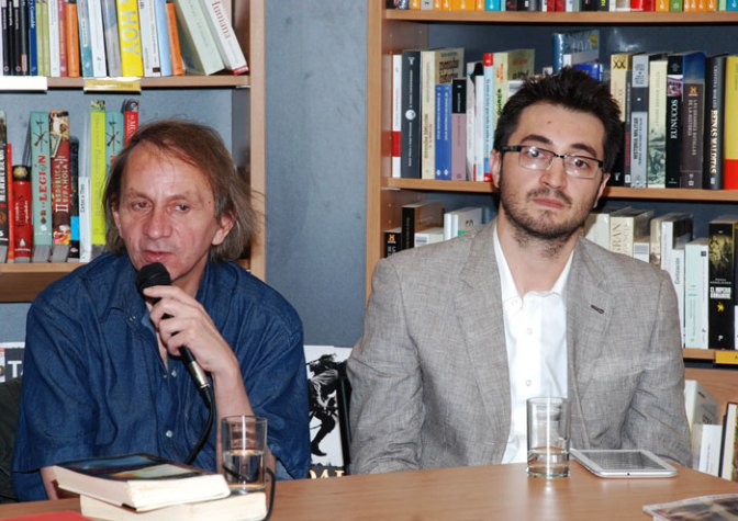 Presentación del libro Michel Houellebecq, diálogos con Fabianni Belemuski, Niram Art Editorial
