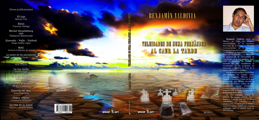 Portada Benjamín Valdivia, Al caer de la tarde - Niram Art