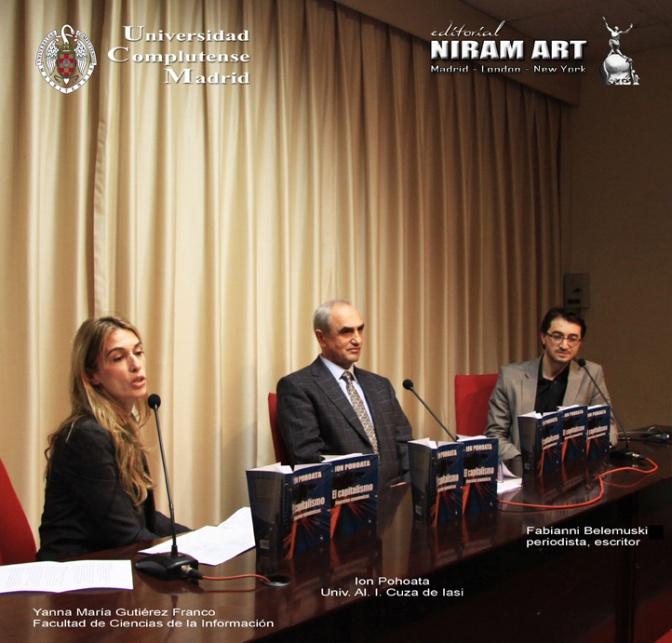 Proyecto Vida Universitaria, Univ. Complutense, Marzo 2015
