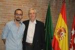 Radu Darolti y Fernando Lolas
