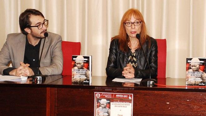 """Presentación del libro """"La esclavitud negra en Costa Rica"""" de Oscar Aguilar Bulgarelli"""
