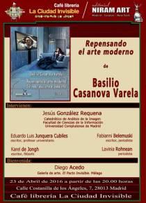 Basilio Casanova, Repensando el Arte moderno