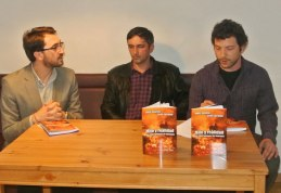 Fabianni Belemuski, Daniel Dieaconu y Karel de Jongh