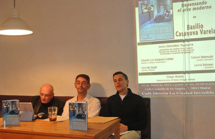 Fabianni Belemuski, Jesús González Requena, Basilio Casanova Varela, Eduardo Luis Junquera