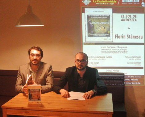Fabianni Belemuski, Alex Belemuski, Presentación El Sol de Andesita de Florin Stanescu
