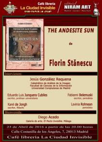 Presentación El Sol de Andesita de Florin Stanescu